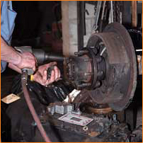 Schott's Repair Service services drum, air, disc, and hydraulic brakes in Whipple, OH.